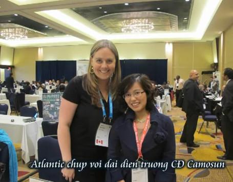 Atlantic tham dự triển lãm quốc tế ICEF – Canada