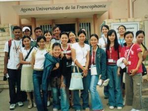 Giao lưu sinh viên Pháp ngữ châu Á tại Đà Nẵng