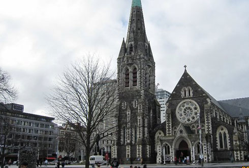 Toàn cảnh nhà thờ Cathedral.