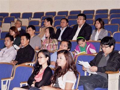 Lưu học sinh Việt dự Hội thảo biển Đông tại ĐH Harvard