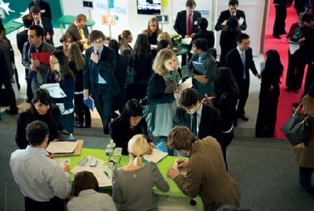 Ngày hội tuyển dụng tại HEC Paris dành cho sinh viên đang học Master