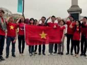 Quốc ca Việt Nam vang lên giữa London