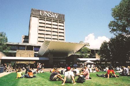Trường Đại học New South Wales, nơi Du theo học