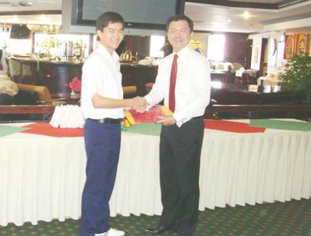 Ngài Pong Kok Tian - Tổng Lãnh sự Singapore (