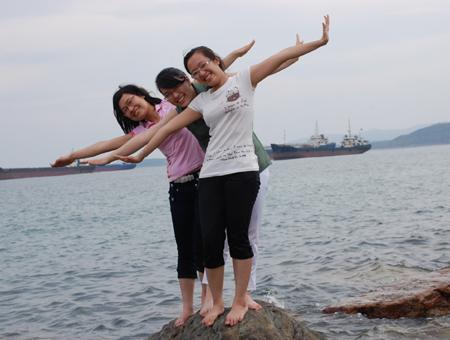 Đào Thanh Phương - người cùng lúc được 5 trường đại học hàng đầu của Mỹ mời nhập học.