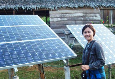Cô gái người dân tộc giàu nghị lực này luôn mong muốn quay về phát triển buôn làng