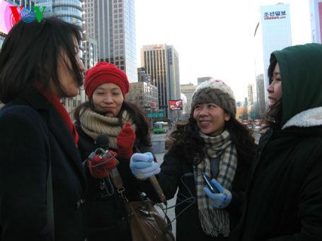 Cô nữ sinh Việt năng động trên đất Hàn