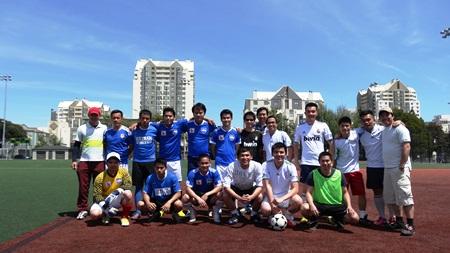 Nụ cười yêu thể thao của những người Việt trẻ tại nước Mỹ