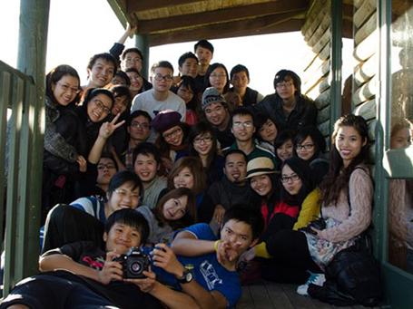 Du học sinh Việt Nam tại Úc tham gia hội trại mùa đông