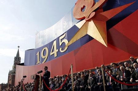 Tháng Năm cũng là thời điểm nước Nga kỉ niệm Lễ chiến thắng. Ảnh - Internet