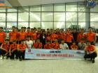 Long trọng tổ chức buổi lễ chia tay học sinh du học Hàn Quốc bay kỳ tháng 7/2017