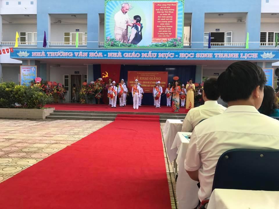 Khai giảng - Trường THCS Lý Nam Đế