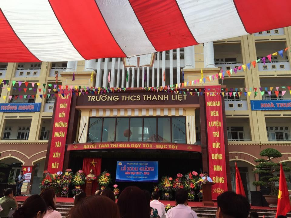 Khai giảng - Trường THCS Thanh Liệt
