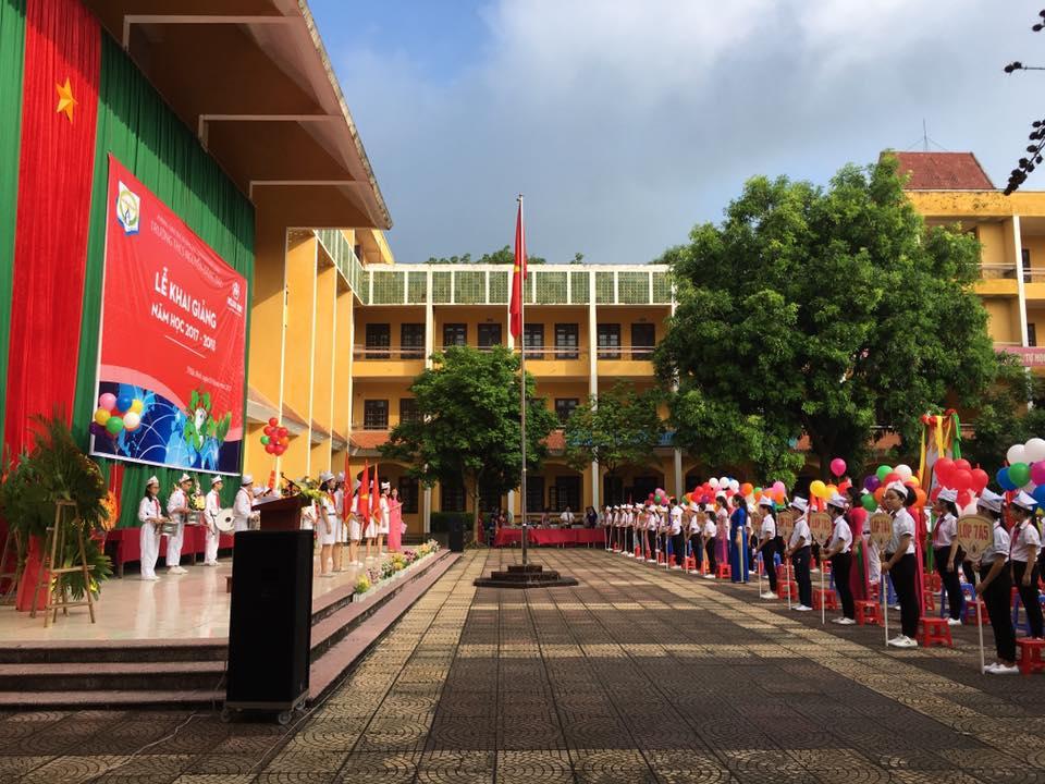 Khai giảng - Trường THCS Nguyễn Đăng Đạo