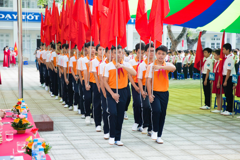 Khai giảng - THCS Sài Đồng 1