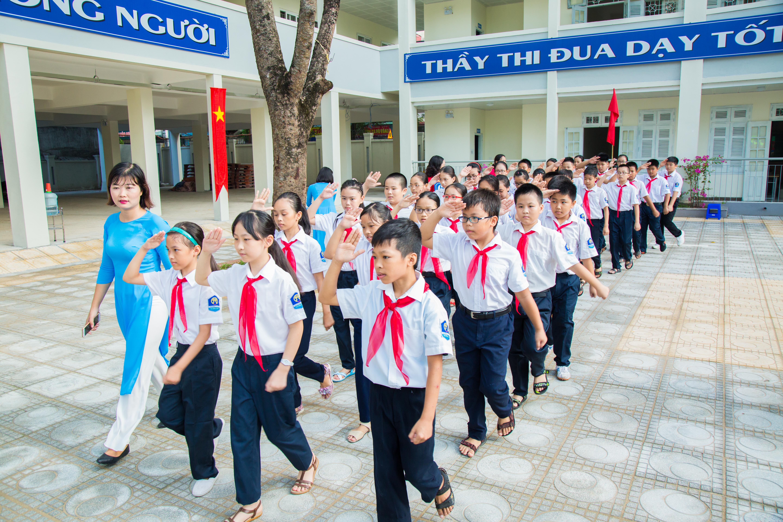 Khai giảng - THCS Sài Đồng 2