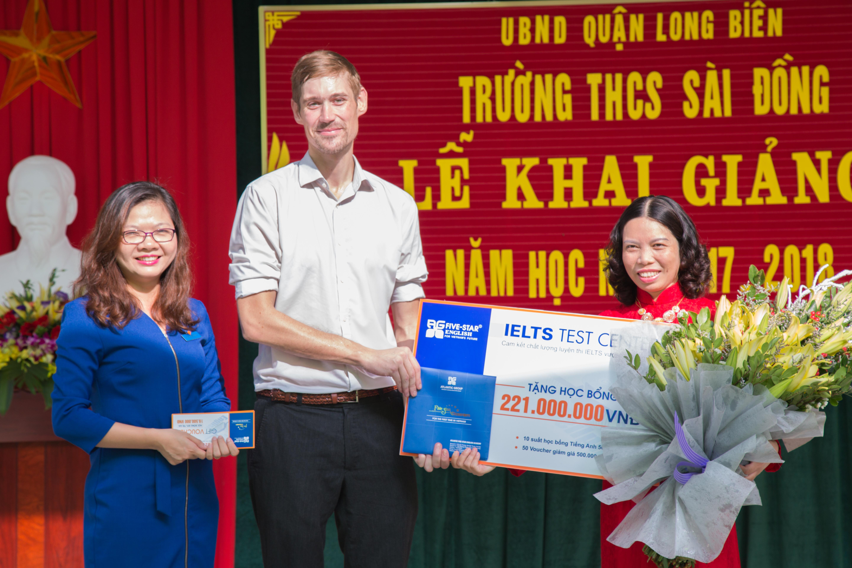 Khai giảng - THCS Sài Đồng 3