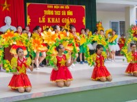 Khai giảng - THCS Sài Đồng 4