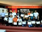 Lễ trao học bổng Mỹ – Hàn Quốc trường THPT Lômônôxốp