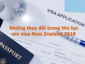 Cập nhật thay đổi về Luật Visa New Zealand (08/08/2018)