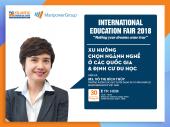 Gặp gỡ diễn giả ManpowerGroup tại Triển lãm giáo dục quốc tế 2018