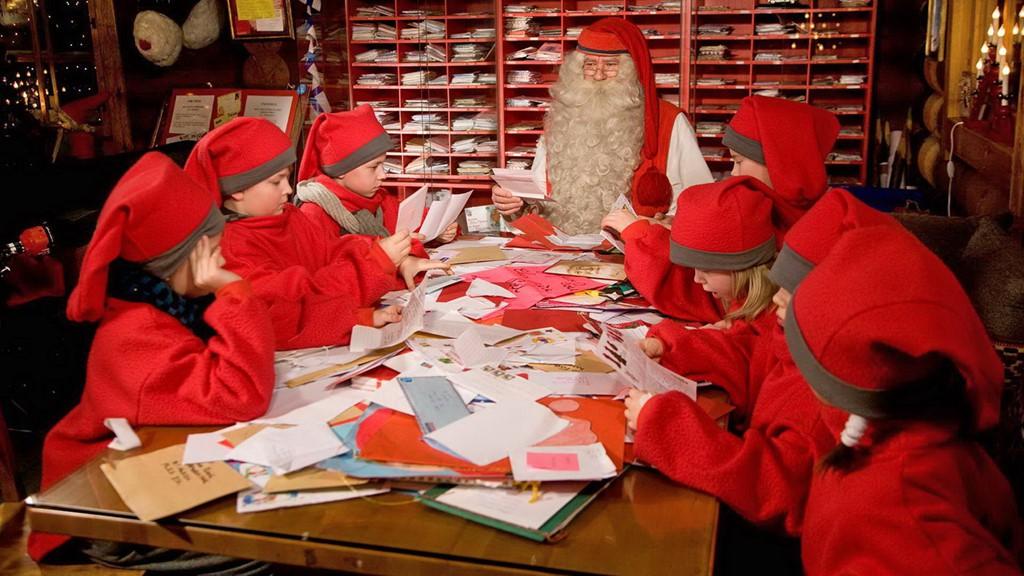 viết thư cho ông già Noel