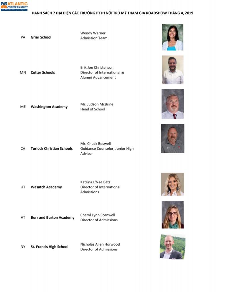 7 đại diện GE tháng 4