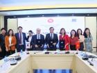 ĐH Ngoại thương, ĐH Dankook & Atlantic Group ký kết mở khóa tiếng Hàn độc quyền