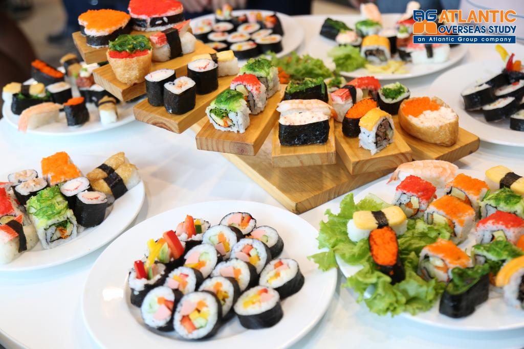 Thưởng thức ẩm thực truyền thống Nhật Bản 2019