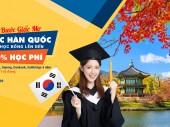 Săn Học bổng du học Đại học Top đầu Hàn Quốc lên đến 100% học phí
