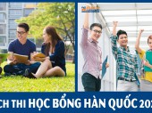 Đừng bỏ lỡ: Lịch thi học bổng Hàn Quốc 2020