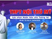 Hội thảo trực tuyến: THPT Nội trú Mỹ – Kế hoạch du học hoàn hảo cho tương lai