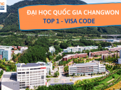 ĐẠI HỌC QUỐC GIA CHANGWON – TOP 1 – VISA CODE