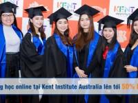 Học bổng học online tại Kent Institute Australia lên tới 50% học phí